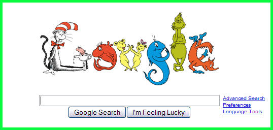 There's a Google in my Froogle, carrying a Moogle.